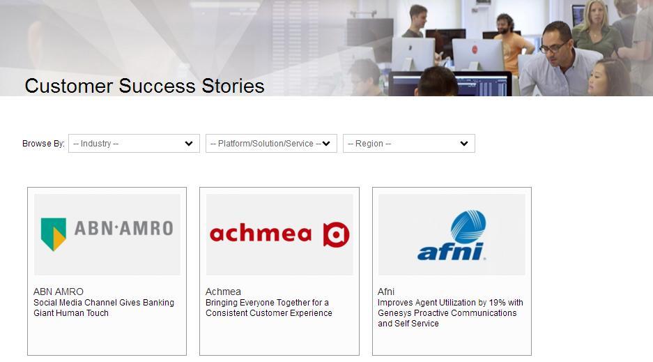 Success Stories - ein Beispiel eines Unternehmens