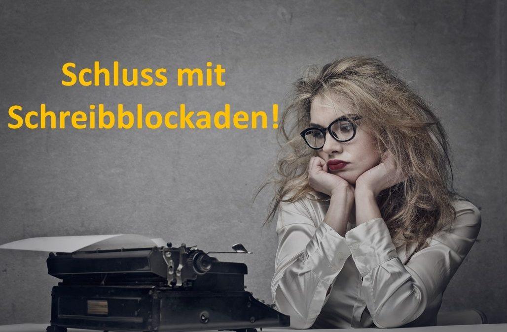 Schluss mit Schreibblockaden!