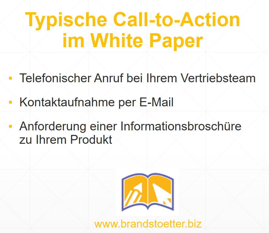 CTA Call to Action White Paper
